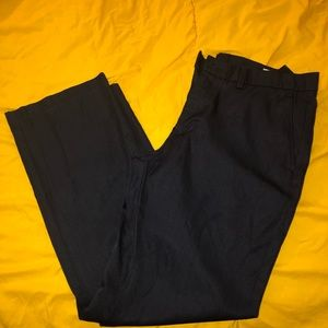 Haggar Pants - Haggar Navy Performance Slacks 34 by 30